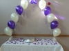 Cake Table Archway with Deco Bubble Centrepiece