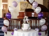 CakeTable Archway with Foil Centrepiece
