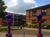 Mardi-Gras Balloon Columns