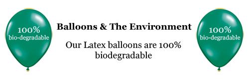 Balloons Amp The Environment Balloon World